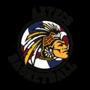 Ashby Aztecs Basketball Logo