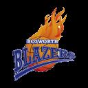 Bosworth Blazers Basketball Logo